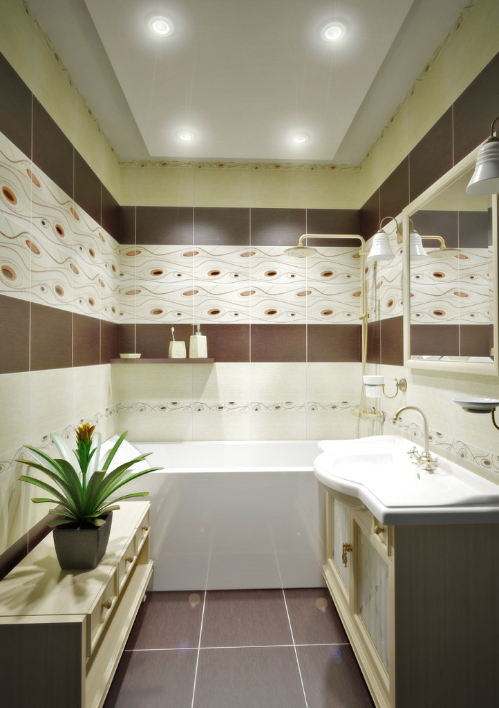 Фото ванной сакура керамин в интерьере