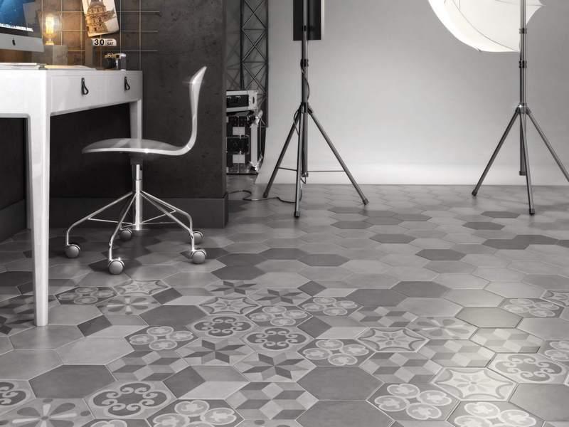 Керама Марацци бетон коллекция Пуату